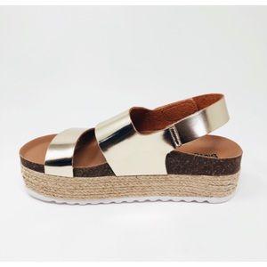 Chinese Laundry DL | Platform Espadrille Sandals.
